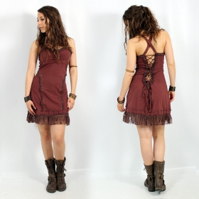 """Exception \\\""""Phimay\\\"""" dress, Brown"""