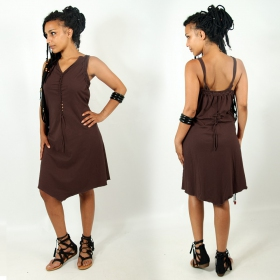 "Exception \""Sukhomey\\\"" dress, Brown"