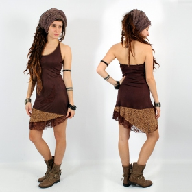 """Exception Dress \\\""""Tarmy\\\"""", Brown"""
