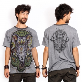 """Fatma Ganesh\"" t-shirt, Dark grey"