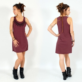 ""\\""""Feather neck\"""" dress, Mottled wine and black""280|280|?|en|2|4296922e712738bad05bae14953446a9|False|UNLIKELY|0.2968520224094391