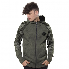 ""\""""Feathers"""" zipped hoodie, Olive hydron""280|280|?|en|2|a1bcc0b17e6c17361624abe97078a8ab|False|UNLIKELY|0.2807224988937378