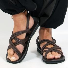 "Flip-flops \""pusha\"", DarkBrown"