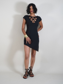 """Fringga\"" dress, Black"