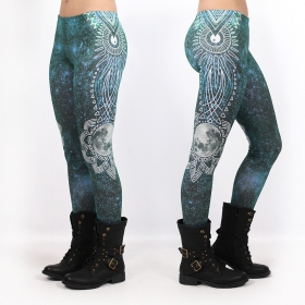 """Full Moon\"" UV leggings, Multicolor"
