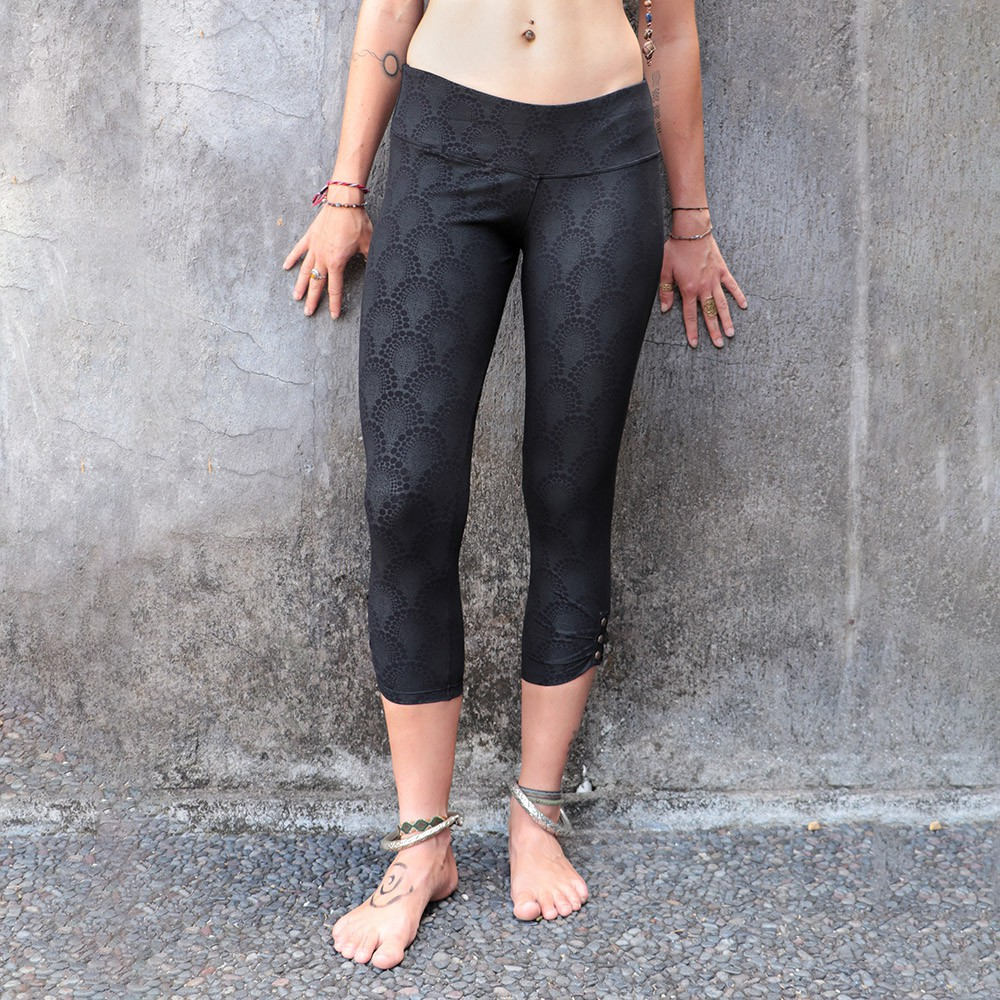 """Furiosa Drop\"" leggings, Black"