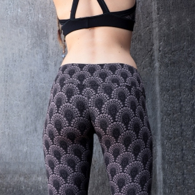 """Furiosa Drop\"" leggings, Brown"