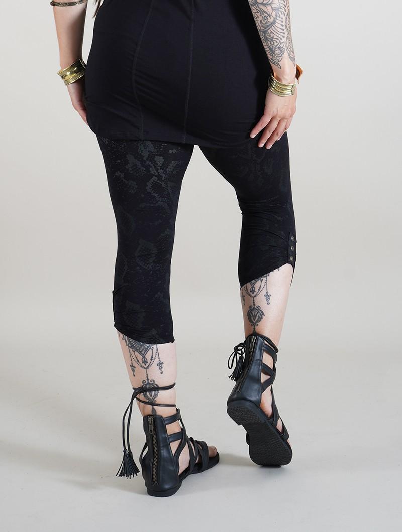 "\""Furiosa Snake\"" leggings, Black"
