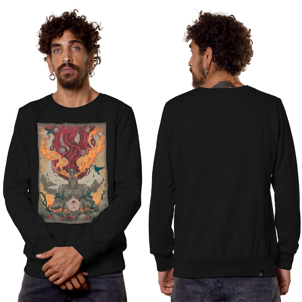 """Fusion Culture\"" sweatshirt, Black"
