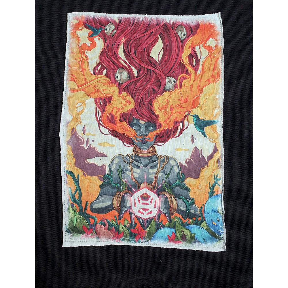 "\""Fusion Culture\"" sweatshirt, Black"
