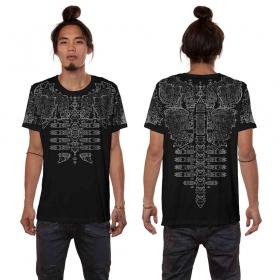 "\""Futura\"" t-shirt, Black"