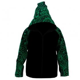"Gado Gado Jacket dwarfhood \""Anui\"", Green"