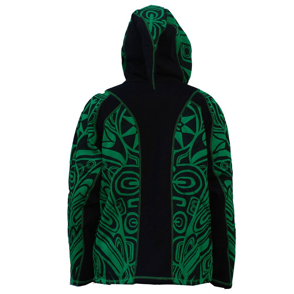 "GadoGado Jacket dwarfhood ""Ivoa\"", Green black"