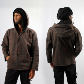 F03 FP ROUNDHOOD BROWN ZOOM FRONT BACK