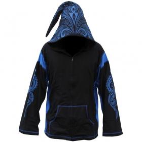 "GadoGado Light jacket dwarfhood \""Turo\"", Black blue"