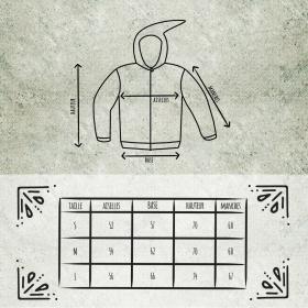 "GadoGado Light jacket dwarfhood \""Turo\"", Black khaki"