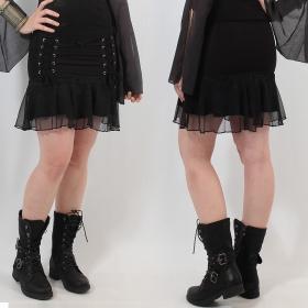 "Gadogado Skirt \""Nemesis\"", Black"