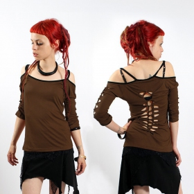 "GadoGado Top ""Sedna\"", Plain brown"