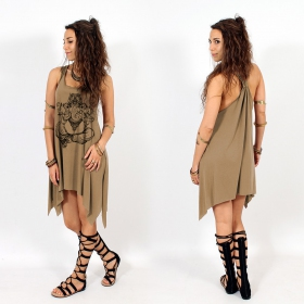 ""\""""Ganesh"""" knotted tunic, Brown and black""280|280|?|en|2|1d7ae3a1a7211bbd930141550de9ecaa|False|UNLIKELY|0.2814669907093048