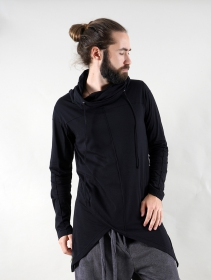 "Gender neutral - ""Demter\"" thin hoodie, Black"