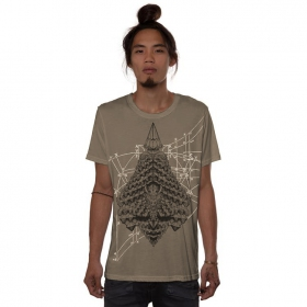 """Geo Conehead\"" t-shirt, Rock"