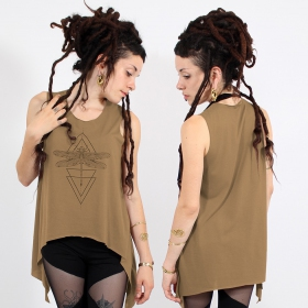 ""\\""""Geometric Dragonfly\"""" asymmetric top, Brown and black""280|280|?|en|2|881e8f0c53105d17e92e9395e6b4a140|False|UNLIKELY|0.3481905460357666