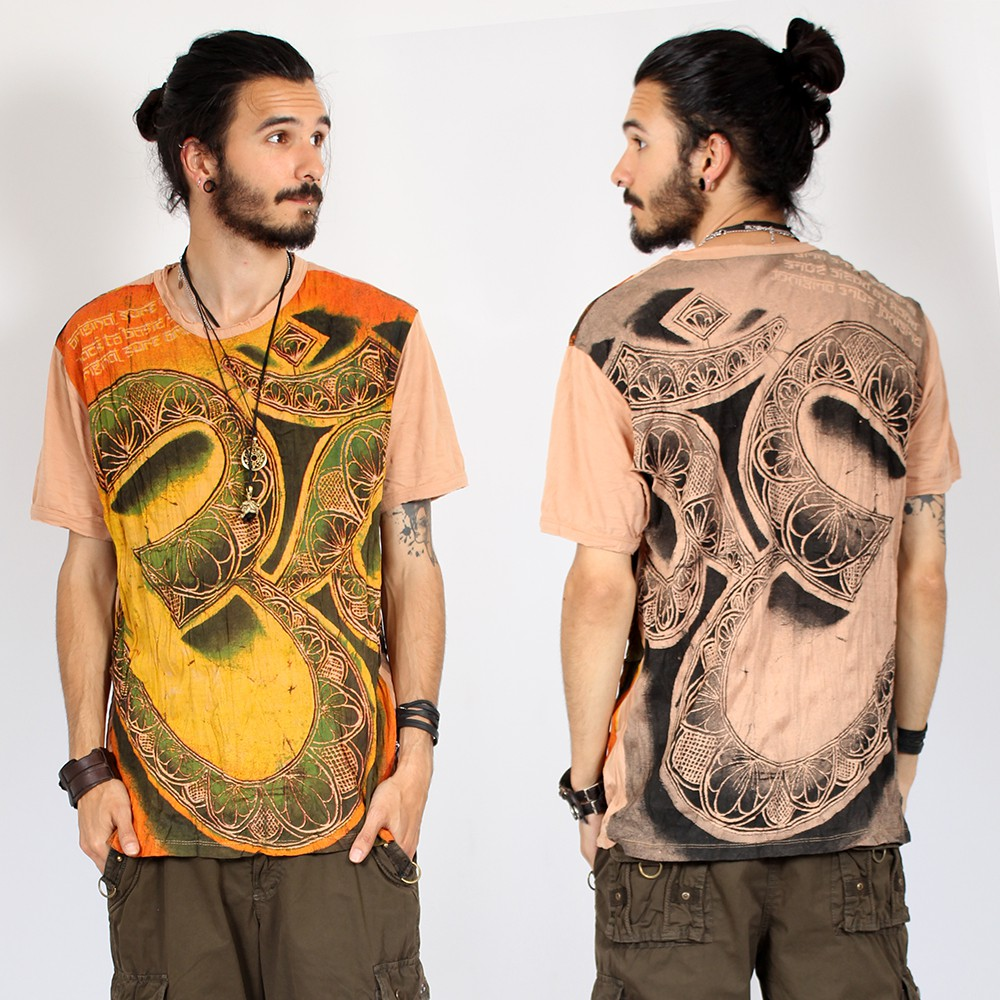 """Giant ohm\"" T-shirt, light Orange"