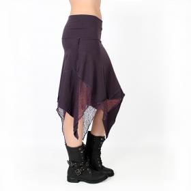 "\""Gitane patch\"" skirt, Purple"