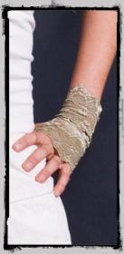 """Gloves fairy floss \\\""""cuff\\\"""", black"""