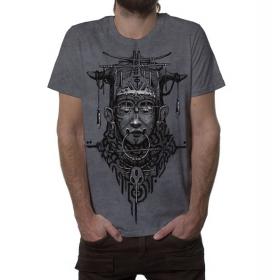 "\""Goan\"" t-shirt, Grey wash"