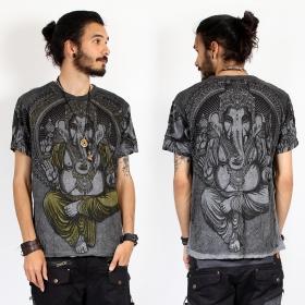 "\""Great Ganesh\"" t-shirt, Dark grey"
