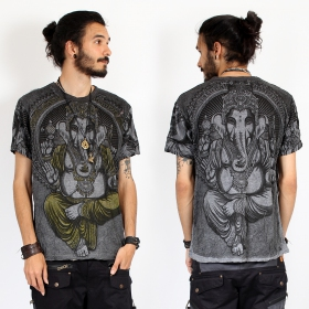 """Great Ganesh\"" t-shirt, Dark grey"
