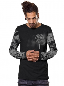 "\""Gunzerker\\\"" thin sweatshirt, Black"