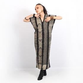 "\""Gypsy Mexico\"" long dress, Black"