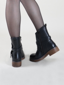 ""\""""Hafsana"""" ankle boots, Black""211|280|?|en|2|f337d0b38f3a806fe1453ea389bb25f3|False|UNLIKELY|0.31957343220710754