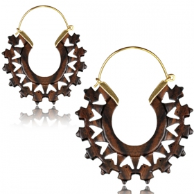 """Hampalaya\"" earrings"