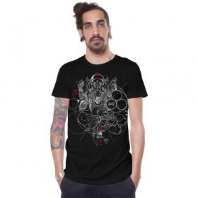"\""Hampi\"" t-shirt, Black"