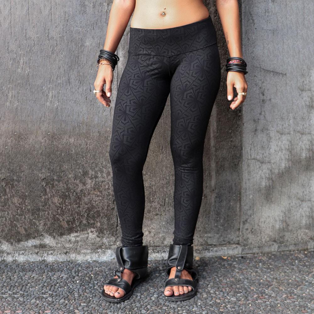 "\""Hatha Samouraï\"" leggings, Black"