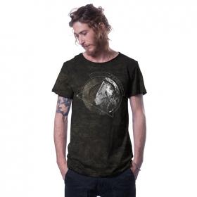 "\""Healing\"" t-shirt, Industrial black"