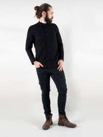 "\""Herendil\"" long sleeve shirt, Black"