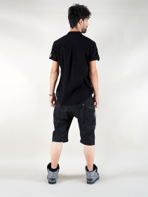"""Herendil\"" short sleeves shirt, Black"