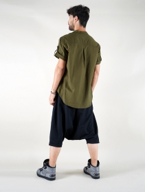 """Herendil\"" short sleeves shirt, Khaki green"