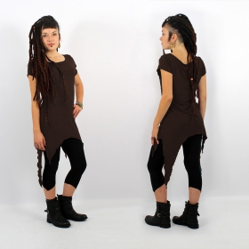 "\""Himaskhalan\\\"" tunic, Dark brown"