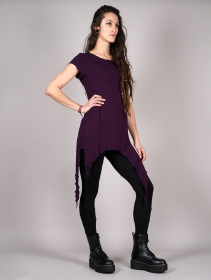 "\""Himaskhalan\"" tunic, Dark purple"