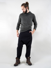 "\""Himri\"" harem pants, Black"