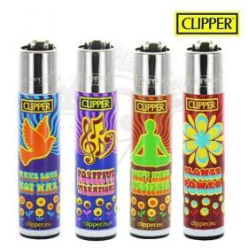 Hippie power Clipper lighter