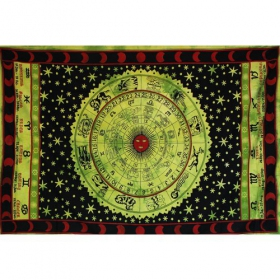 "\""Horoscope\\\"" hanging, Green"