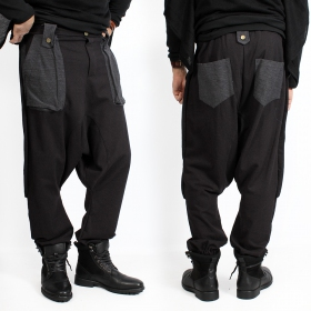 """Ifarit\"" Harem pants, Black"