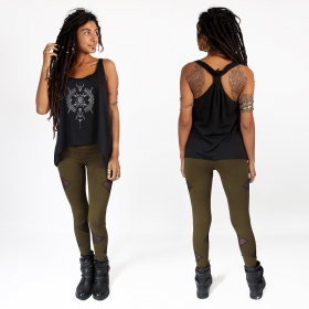 """Ilanga\"" knotted tank top"