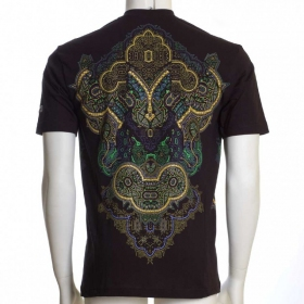 """Incarnation\"" UV t-shirt, Black"